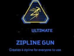Zipline gun Apex Legends pathfinder Ultimate abilities