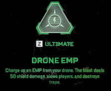 crypto apex legends Ultimate ability drone EMP