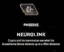 crypto apex legends passive ability neurolink