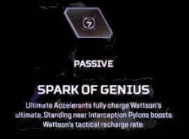 spark of geniuos wattson apex legends abiility